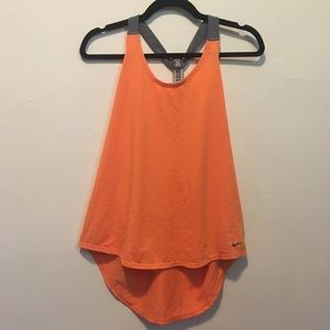 Nike Orange Just Do It Tank Top L
